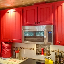 Custom Painted Kitchen Cabinetry 3