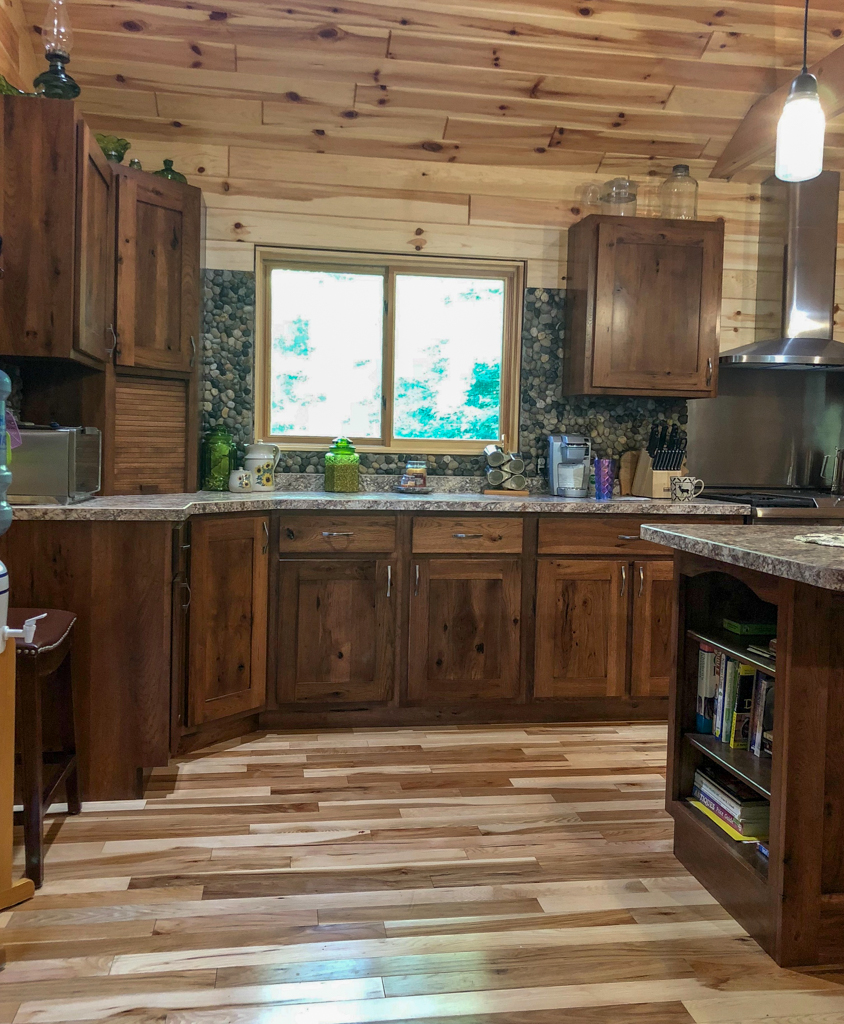 Knotty Pine Cabinets: Cabinetry - Kitchens And Baths