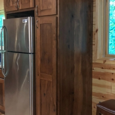 Custom Stained Hickory Cabinetry 3