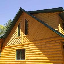 Half Log Home