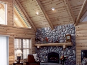 Knotty Pine Great-room