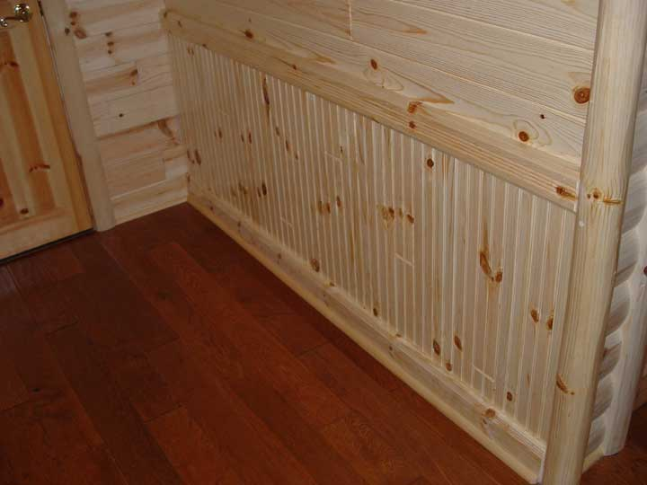 1x4 Lumber Beaded Paneling Custom Project On Www Shv
