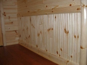 Wainscoting Knotty Pine