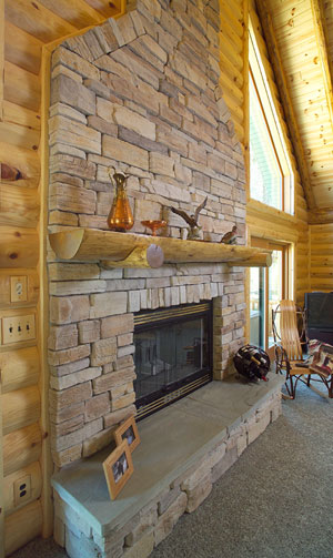 Our rustic fireplace mantels are the perfect addition to any fireplace. We also offer a range of log accessories. Check out our log mantels & accessories!