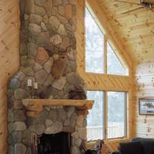 Half Log Mantle