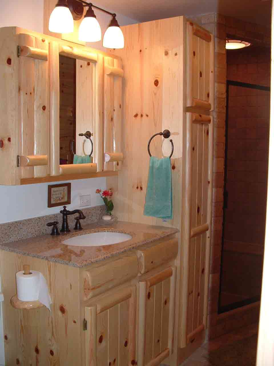 Custom Bathroom Vanities Michigan cabinetry - kitchens and baths | timber country cabinetry