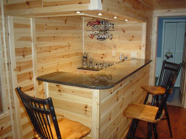 Man Cave Ideas For Bar : Small bar ideas for garage man cave low budget