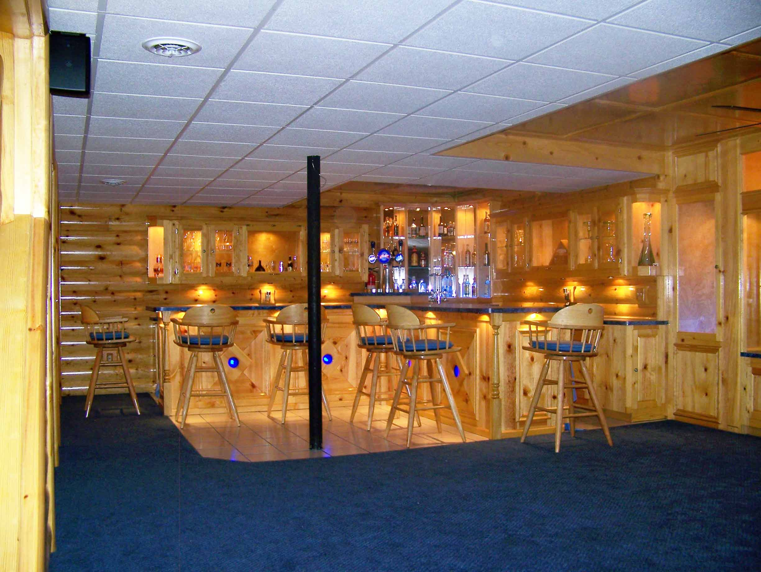 Man Cave Ideas For Bar : Sports bar ideas for home contemporary with man room