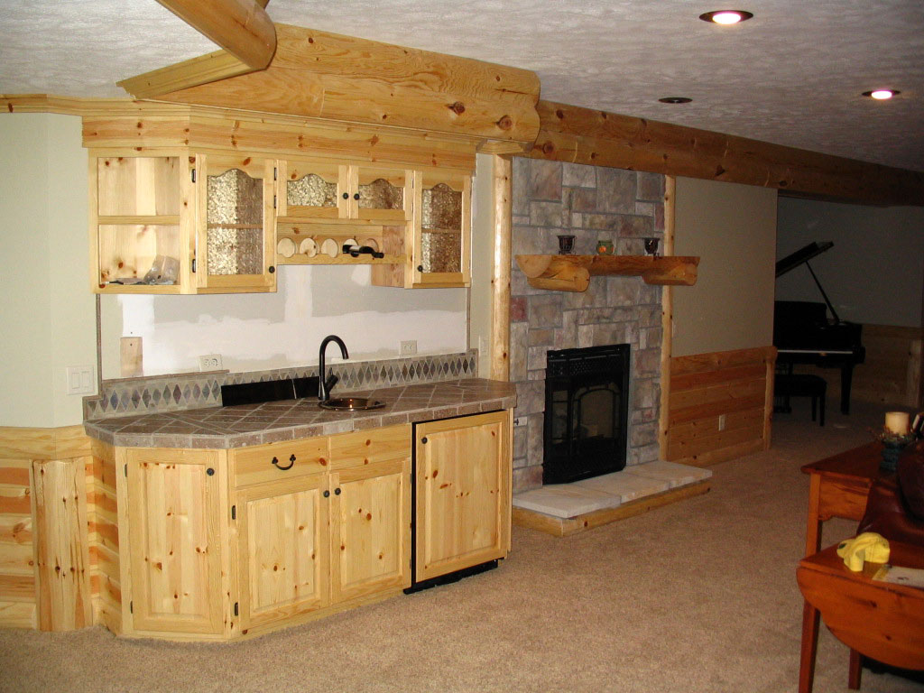 Man-Caves Kitchenette