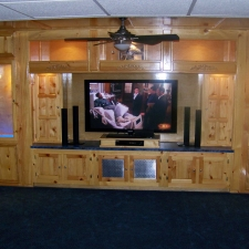 Man-Caves Television Room