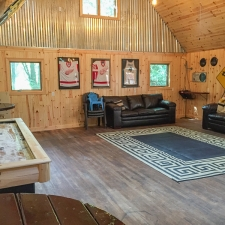 Man Cave Sports Game Room