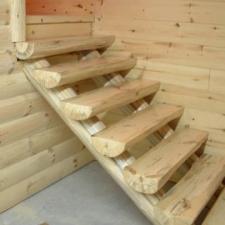 Half Log Stairway