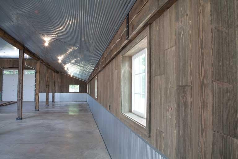 Barnwood Paneling Barn Wood Wall Reclaimed Barn The