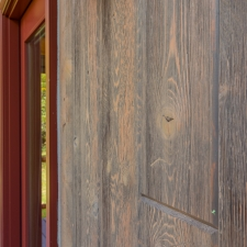 Detail look of Barn Wood Planks