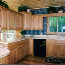 Raised Panel Oak Kitchen Cabinetry