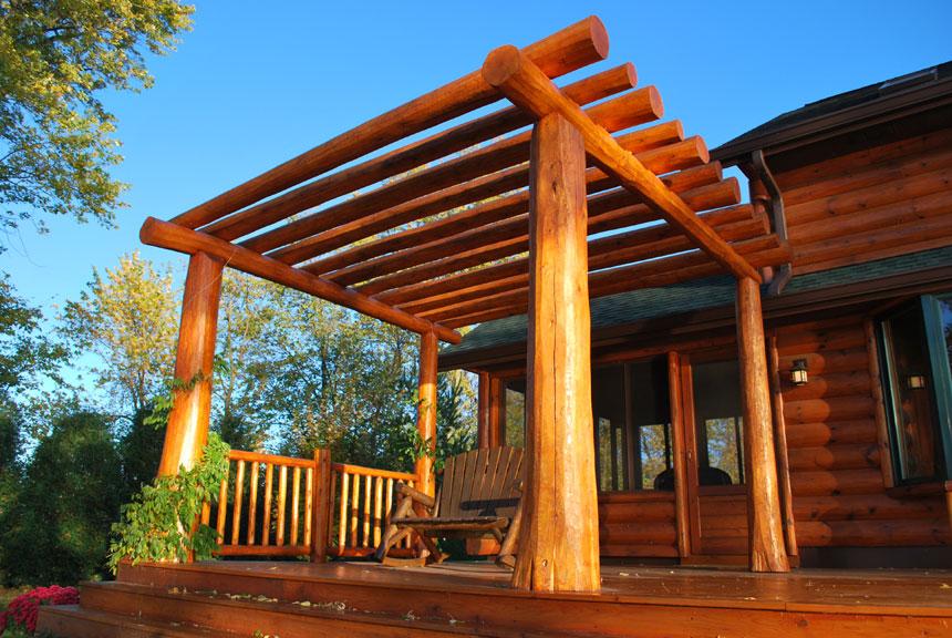 Log Porch