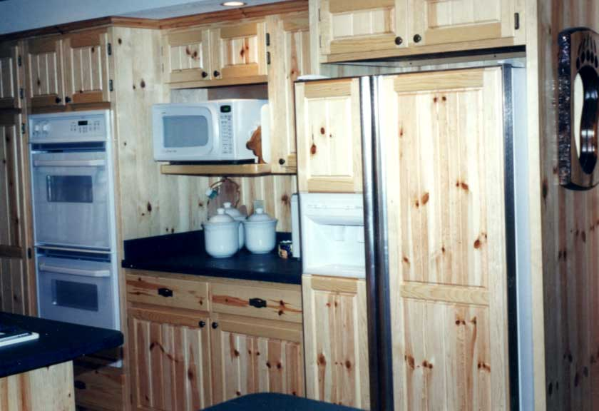 bathroom designs and for diningdecorcenter kitchen romantic cabinet after painting knotty with design com before pine modern your cabinets