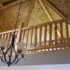 Pine Railing Loft