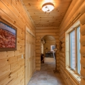 Prefinished Knotty Pine Hallway