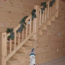 Timber Stairway