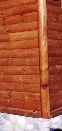 Standard Log Corner