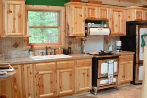 Log Home Cabinetry