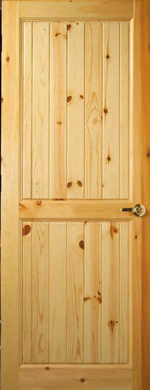 Custom interior wood doors cedar knotty pine doors for Custom interior wood doors