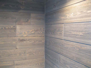 Barnwood Paneling - Wall Inside Corner
