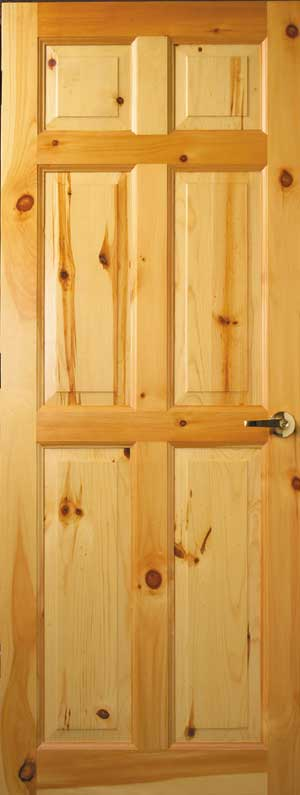 & Custom Interior Wood Doors | Cedar u0026 Knotty Pine Doors