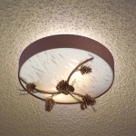 Ceiling Pinecone