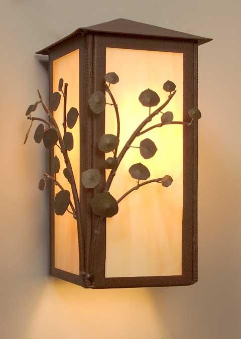 Rustic Indoor & Outdoor Lighting Fixtures | Cabin Lamps