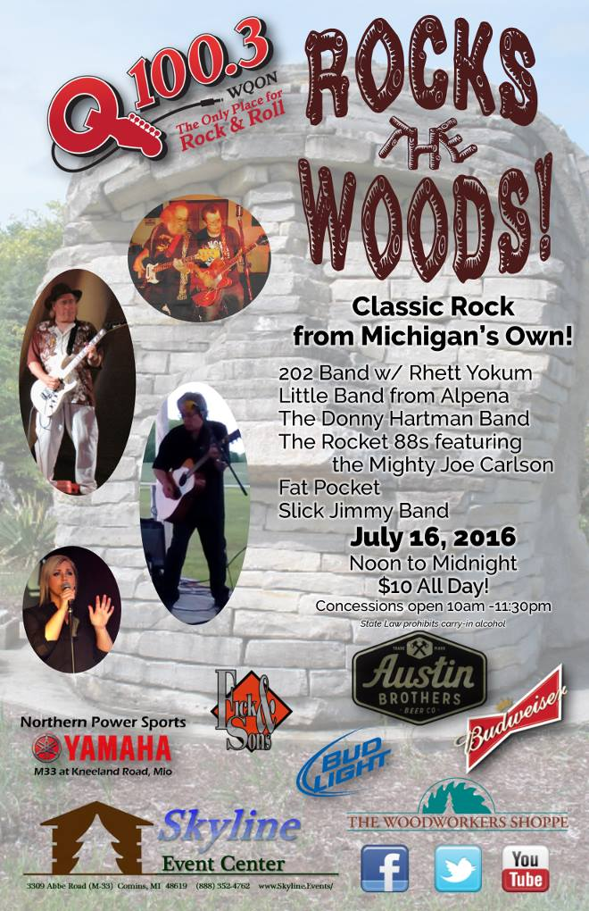 Rock The Woods