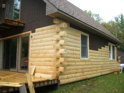 Log Home Makeover Make Your Home Look Like A Log Cabin