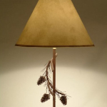Table Lamp Pinecone