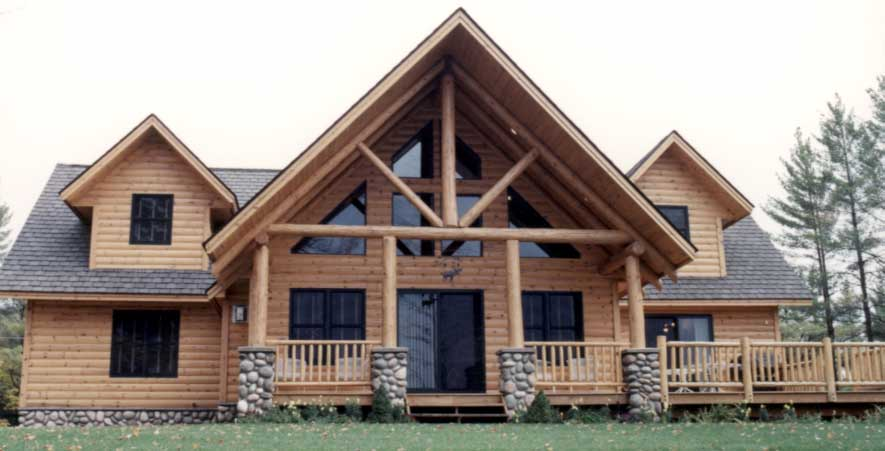 Log Cabin Exterior Exterior Home Siding Designs