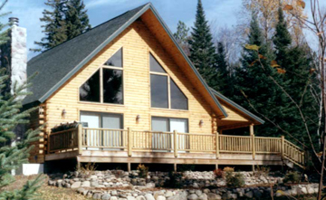 Log siding prices wood paneling cost estimates for Log home cost estimator
