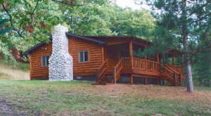 Rustic Log Home Trim