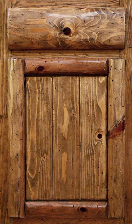 Distressed Pine Cabinet Doors