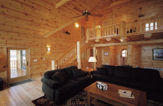 prefinished pine paneling