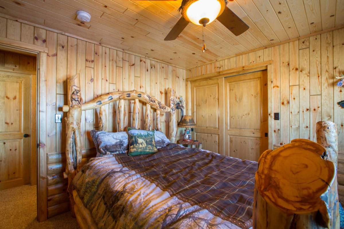 rustic paneling