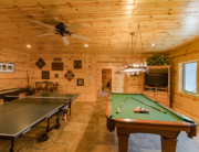 Knotty Pine Paneling Is a Log Cabin Owner's Dream Come True