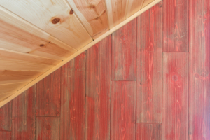 Barn Wood Knotty Pine Walls Are Trending Now
