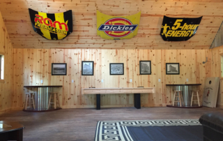 Knotty Pine Paneling Game Room