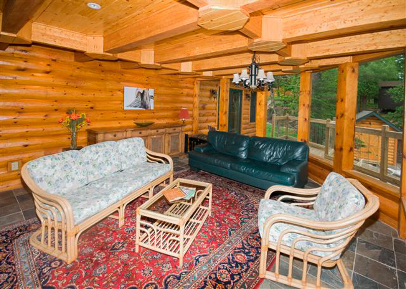 Log Cabin Paneling Is The Go To For Your Bed And Breakfast