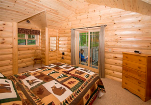 Save Time with Pre-Finished Knotty Pine Paneling