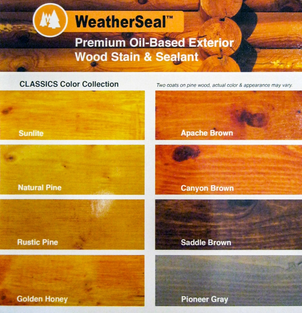 WeatherSeal Exterior Wood Stain