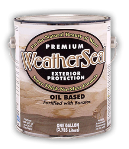 WeatherSeal Stain 1 gallon