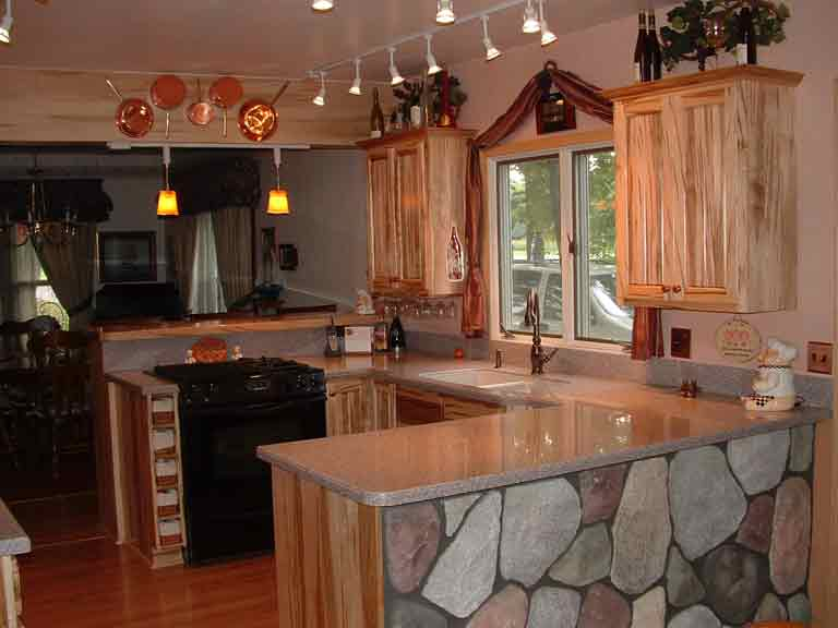 Ambrosia Red Maple Kitchen Cabinetry