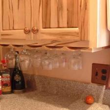 Ambrosia Red Maple Wine Glass Rack