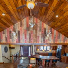 Barn Wood Living Room - Canyon Ridge w/Chestnut 3211 Stain added